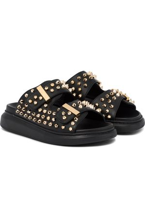 Alexander McQueen Hybrid studded leather sandals