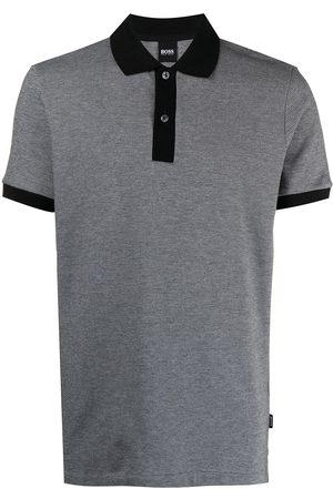 HUGO BOSS Mélange polo shirt
