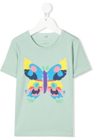 Stella McCartney T-shirts - Butterfly-print T-shirt