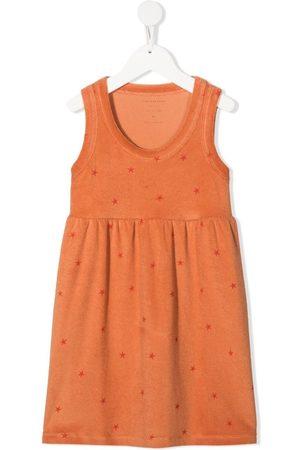 Tiny Cottons Star-print cotton dress