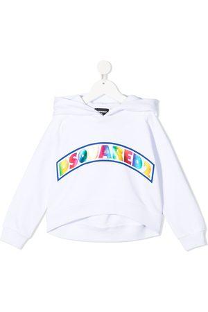 Dsquared2 Rainbow logo-print hoodie