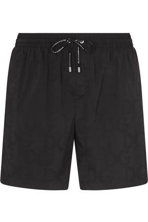 Dolce & Gabbana DG tonal swim shorts