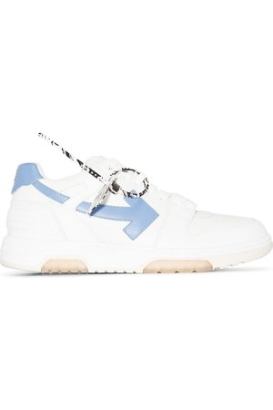 OFF-WHITE Men Sneakers - Out Of Office leather sneakers