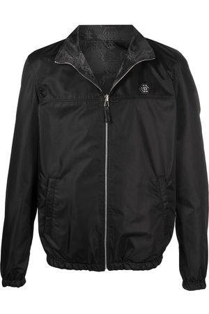 Philipp Plein Men Bomber Jackets - Reversible bomber jacket