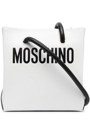 Moschino Women Shoulder Bags - Logo-print shoulder bag