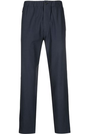 Kenzo Men Sweatpants - Logo-patch straight-leg track pants