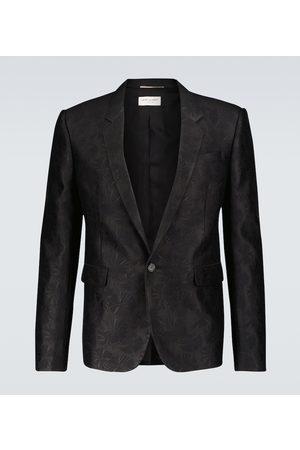 Saint Laurent Parasol jacquard blazer