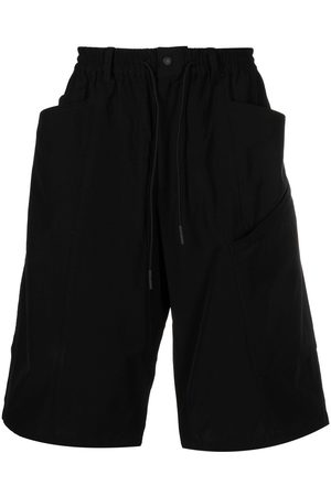 Y-3 Men Bermudas - Drawstring waist bermuda shorts