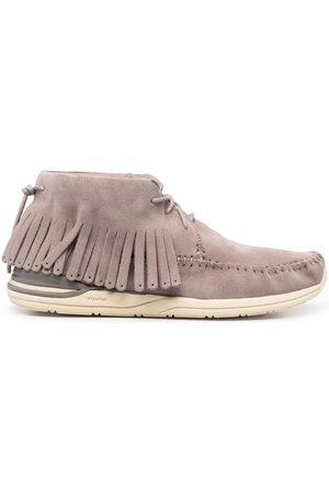 VISVIM Men Loafers - Fringed moccasin boots - Grey