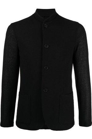 Harris Wharf London Men Blazers - Nehru rice-stitch jacket