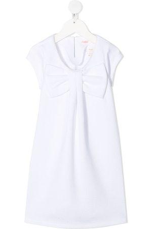 Billieblush Girls Casual Dresses - Bow front shirt dress