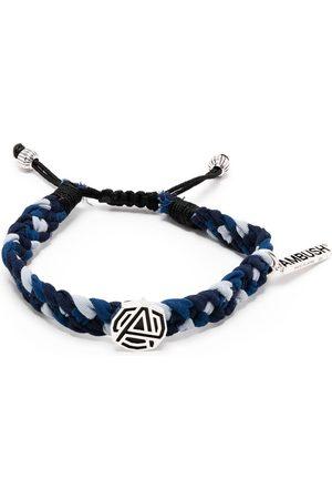 AMBUSH Charm-detailed braided bracelet
