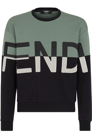 Fendi Logo-embroidered sweatshirt