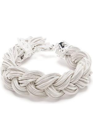 EMANUELE BICOCCHI Ice braided bracelet