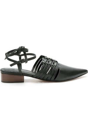NK Leather strappy ballerina shoes