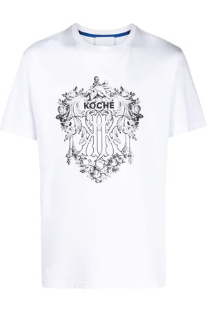 KOCHÉ Logo crew-neck T-shirt