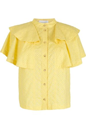 NK Ruffled broderie anglaise blouse