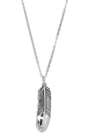 AMBUSH Men Necklaces - Feather charm necklace