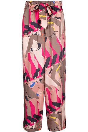 AZ FACTORY I Love My Body print pyjama trousers