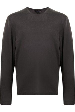 James Perse Men Sweatshirts - Cashmere knit jumper - Grey