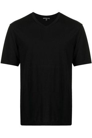 James Perse Men T-shirts - Lotus V-neck T-shirt