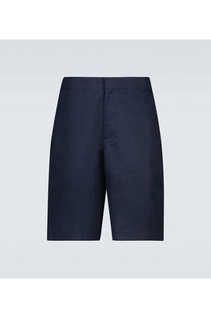 OAMC Men Shorts - Vapor cotton gabardine shorts