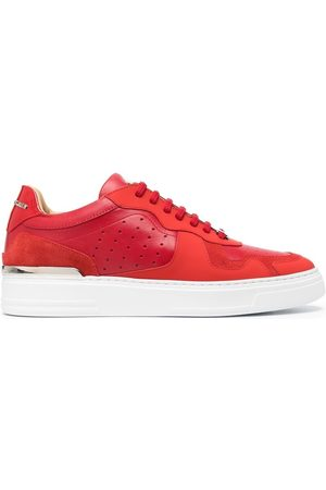 Philipp Plein Men Sneakers - Suede-panel sneakers