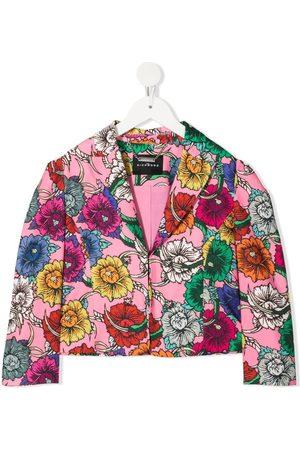John Richmond Junior Floral-print blazer