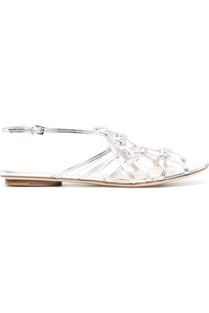 RODO Woven leather sandals
