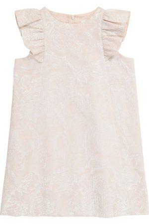 BONPOINT Girls Printed Dresses - Poupée floral-jacquard dress
