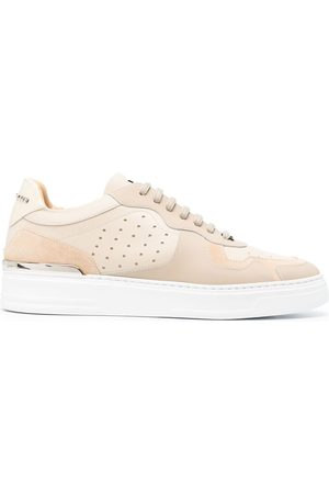 Philipp Plein Panelled low-top sneakers - Neutrals