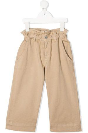 Dondup Girls Wide Leg - Wide-leg cotton jeans