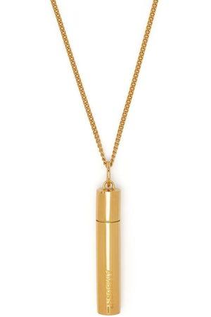 AMBUSH Necklaces - Pill case silver necklace