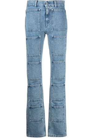 Lourdes Multi-pocket bootcut jeans