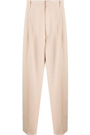 AMBUSH Men Formal Pants - Wide-leg tailored trousers - Neutrals