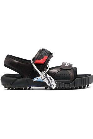 OFF-WHITE Men Sandals - Odsy logo strap sandals