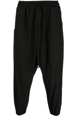 Alchemy Elasticated drop-crotch trousers