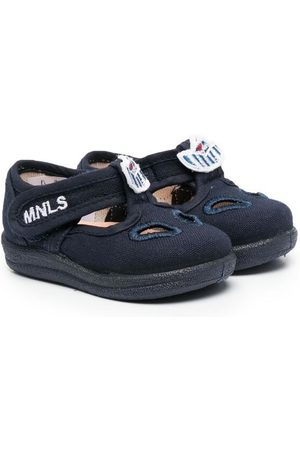 MONNALISA Shoes - Boat embroidery pre-walkers