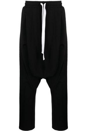 Alchemy Stretch-cotton drop-crotch trousers