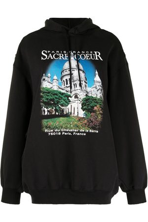 Balenciaga Sacré Coeur-print oversized hoodie