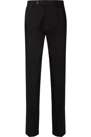 Salvatore Ferragamo Men Straight Leg Pants - Straight-leg cotton trousers