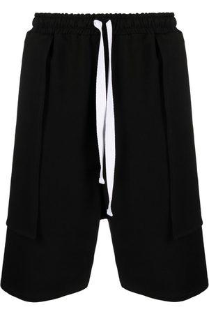 Alchemy Layered drawstring shorts