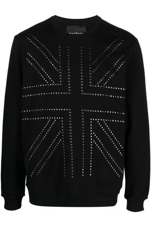 John Richmond Studded cotton sweatshirt