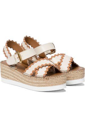 Chloé Platform espadrille sandals