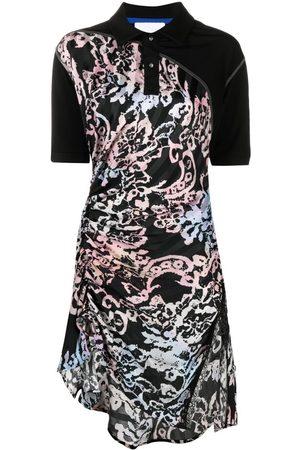KOCHÉ Women Asymmetrical Dresses - Asymmetric shirt dress