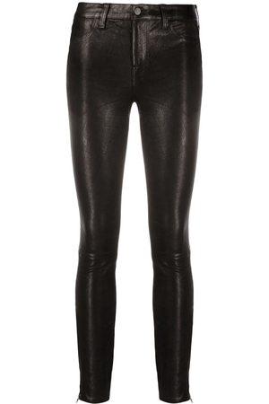 J Brand Leopard print skinny trousers