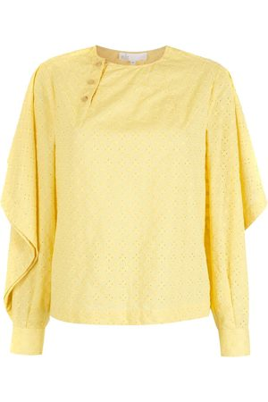 NK Long sleeves textured blouse