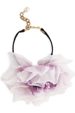 Dolce & Gabbana Women Necklaces - Flower-motif choker necklace