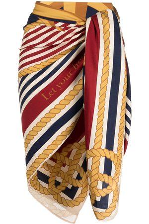 Marlies Dekkers Women Scarves - Chain stripe print scarf