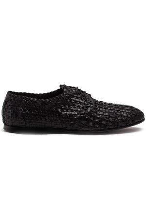 Dolce & Gabbana Men Formal Shoes - Woven derby shoes